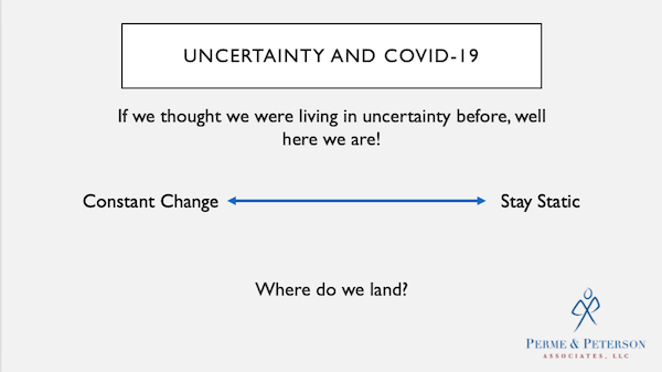 Uncertainty – Hard to Live With, Necessary to Thrive