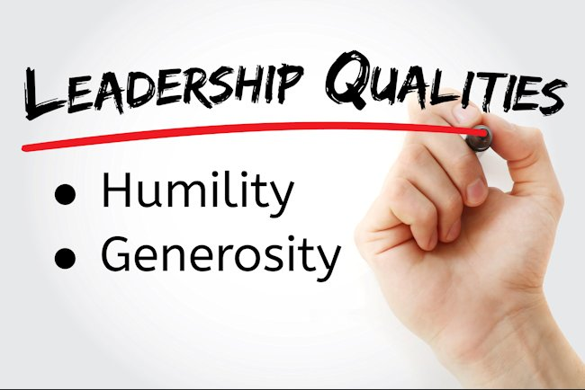 On Being Humble and Generous – Part 1